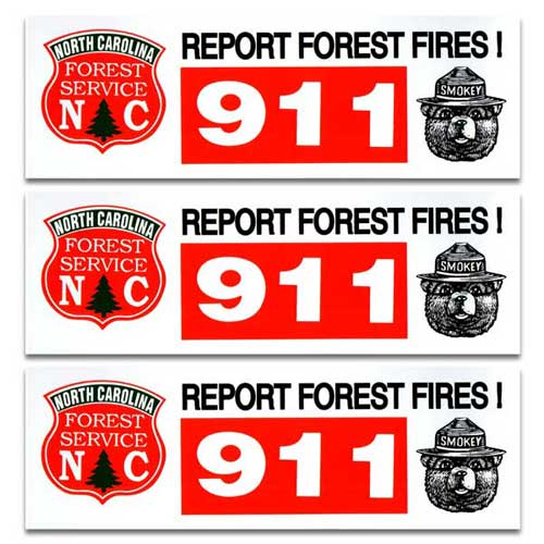 ストアー おすすめ 人気のステッカー ステッカー 3枚 セット FOREST スモーキーベア アメリカン雑貨 Bear Smokey 911