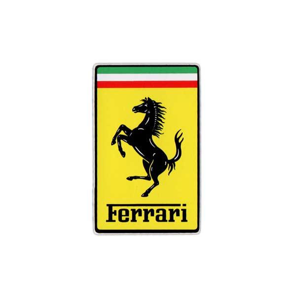 フェラーリ公式アイテム 推奨 フェラーリ 大特価!! Ferrari オフィシャル アメリカン雑貨 ステッカー 正規品 長方形S