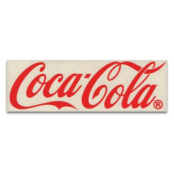 低価格 コカコーラのステッカー コカコーラ Coca Cola 新色 カッティング ステッカー アメリカン雑貨 レッド
