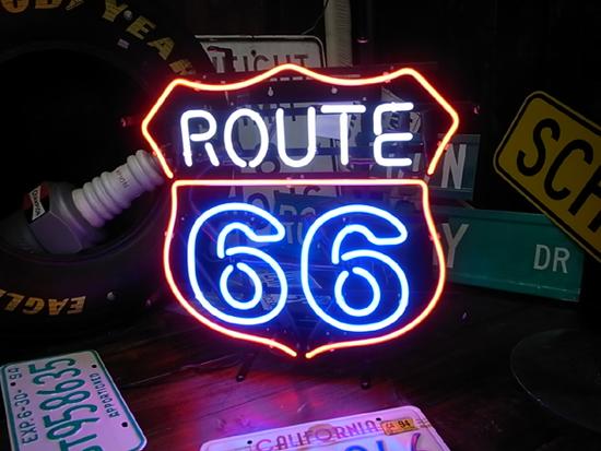 ネオンサイン / ROUTE 66 ルート66 看板