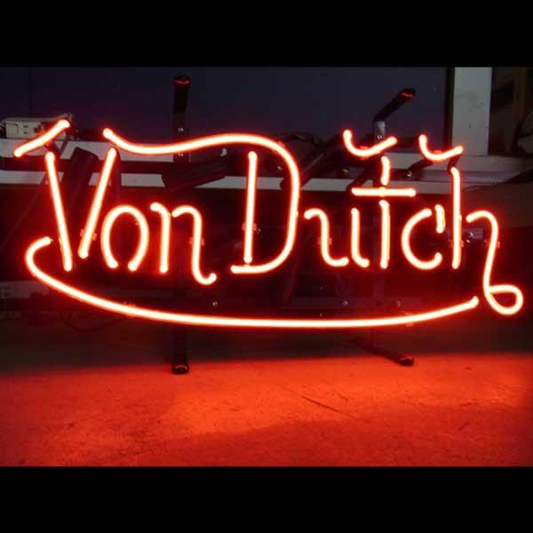 ネオンサイン / VON DUTCH LOGO ヴォンダッチ ロゴ 看板