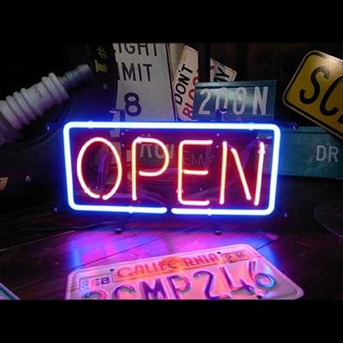 ネオンサイン / OPEN (M) オープン 看板