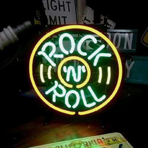ネオンサイン / ROCK & ROLL ロックンロール 看板