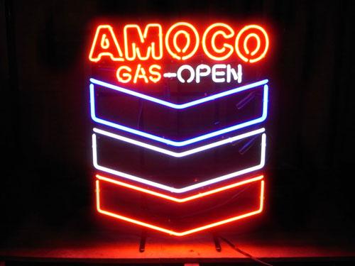 ネオンサイン / AMOCO アモコ 看板