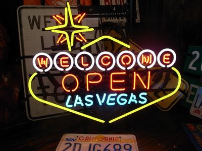 ネオンサイン / LAS VEGAS OPEN ラスベガス オープン 看板