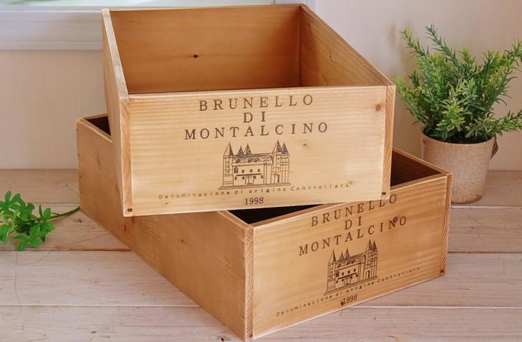 特売 手間と時間をかけて さらなるアンティーク感を出した商品です 国産品 ワイン 木箱 ブレア 木製 アンティーク加工 ワインBOX ワインボックス ワイン箱 ブリュネロ ナチュラル アメリカン カントリー 安い 限定タイムセール レトロ加工 雑貨 収納 北欧 インテリア アンティーク調 ディスプレイ ガーデニング 軽い イタリアン 飾り レトロ調 箱