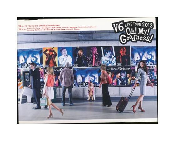 【中古】DVD「 V6 / live tour 2013 Oh! My! Goodness!」 初回生産限定盤A / 4枚組