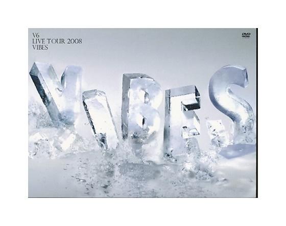 【中古】DVD「 V6 LIVE TOUR 2008 VIBES 」 初回限定盤