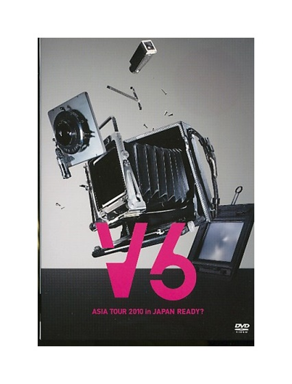 【中古】DVD「 V6 ASIA TOUR 2010 in JAPAN READY? 」READY?盤 / 4枚組 / 初回生産限定