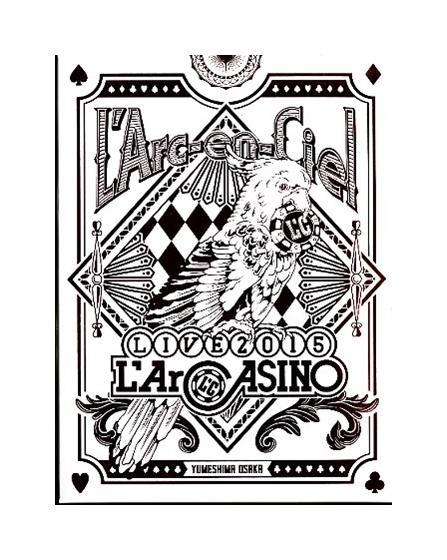 【中古】Blu-ray「 L'Arc~en~Ciel / LIVE 2015 L'ArCASINO 」初回生産限定盤 / ラルク・アン・シエル