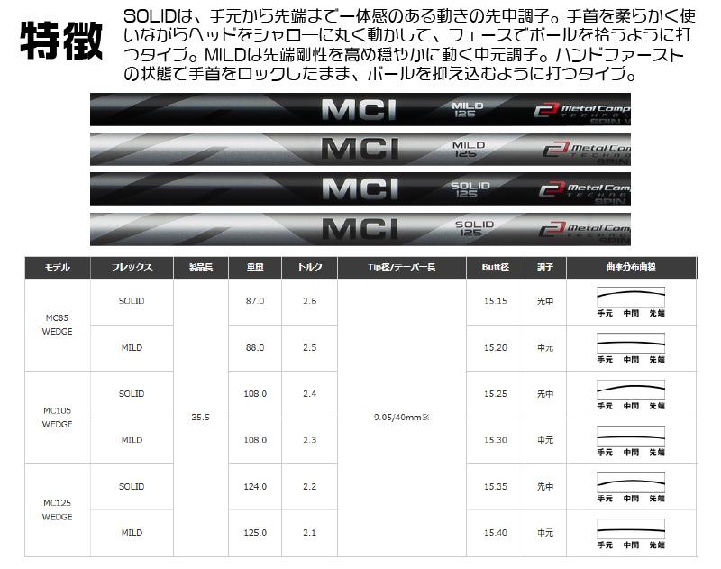 포티 DJ-33 웨지 FOURTEEN DJ-33 WEDGE MCI 105 SOLID/MILD 카본 샤프트 메이커 커스텀 일본 정규품
