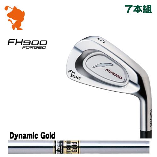 フォーティーン FH900 FORGED アイアンFOURTEEN FH900 FORGED IRON 7本組Dynamic Gold スチールシャフトメーカーカスタム 日本正規品