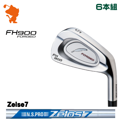 フォーティーン FH900 FORGED アイアンFOURTEEN FH900 FORGED IRON 6本組NSPRO Zelos7 スチールシャフトメーカーカスタム 日本正規品