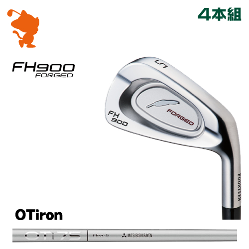 フォーティーン FH900 FORGED アイアンFOURTEEN FH900 FORGED IRON 4本組OT iron カーボンシャフトメーカーカスタム 日本正規品