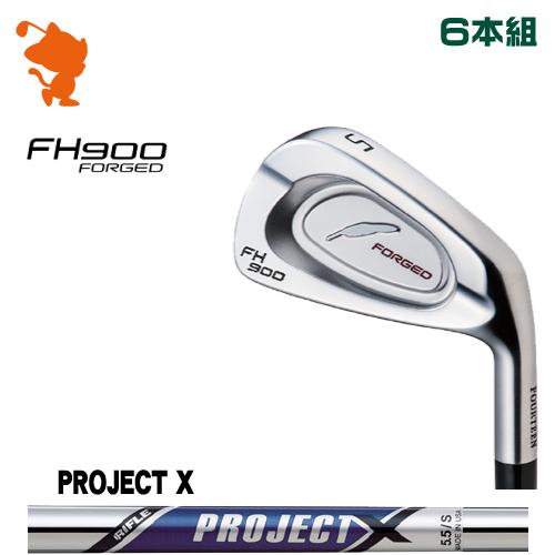 フォーティーン FH900 FORGED アイアンFOURTEEN FH900 FORGED IRON 6本組PROJECT X スチールシャフトメーカーカスタム 日本正規品