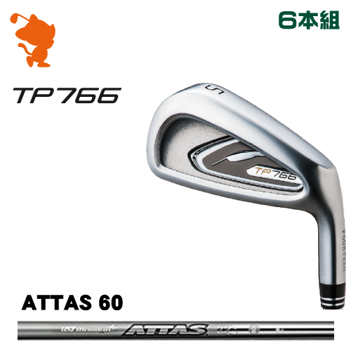 フォーティーン TP766 アイアンFOURTEEN TP766 IRON 6本組ATTAS IRON 60 カーボンシャフトメーカーカスタム 日本正規品