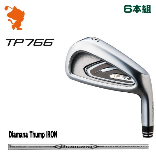 新しいコレクション フォーティーン Thump TP766 アイアンFOURTEEN 日本正規品 TP766 IRON 6本組Diamana Thump IRON カーボンシャフトメーカーカスタム IRON 日本正規品, どんどん:21d94a14 --- clftranspo.dominiotemporario.com