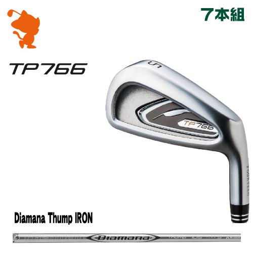 フォーティーン TP766 アイアンFOURTEEN TP766 IRON 7本組Diamana Thump IRON カーボンシャフトメーカーカスタム 日本正規品
