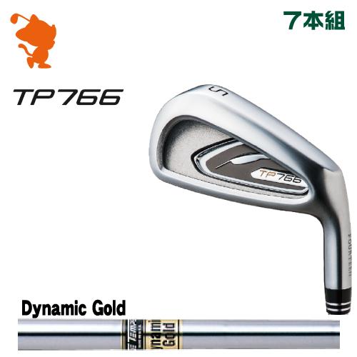 フォーティーン TP766 アイアンFOURTEEN TP766 IRON 7本組Dynamic Gold スチールシャフトメーカーカスタム 日本正規品