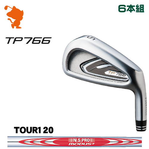 フォーティーン TP766 アイアンFOURTEEN TP766 IRON 6本組NSPRO MODUS3 TOUR120 スチールシャフトメーカーカスタム 日本正規品