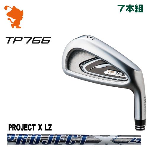 フォーティーン TP766 アイアンFOURTEEN TP766 IRON 7本組PROJECT X LZ スチールシャフトメーカーカスタム 日本正規品