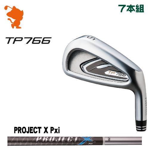 フォーティーン TP766 アイアンFOURTEEN TP766 IRON 7本組PROJECT X PXi スチールシャフトメーカーカスタム 日本正規品