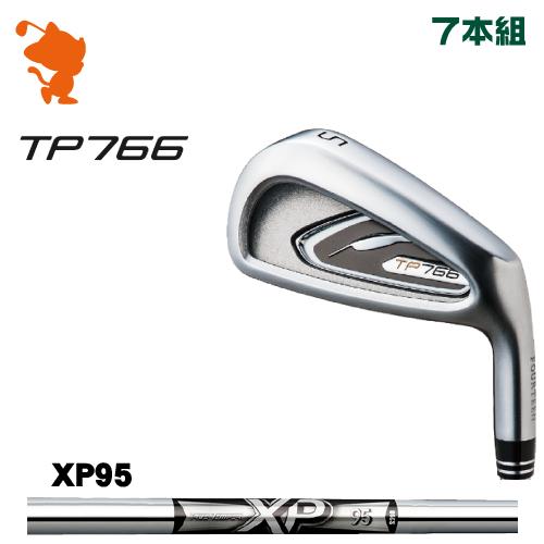 フォーティーン TP766 アイアンFOURTEEN TP766 IRON 7本組XP95 スチールシャフトメーカーカスタム 日本正規品