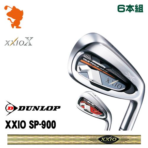 ダンロップ ゼクシオテン アイアンDUNLOP XXIO X IRON 6本組SP-900 カーボンシャフトメーカーカスタム 日本正規品
