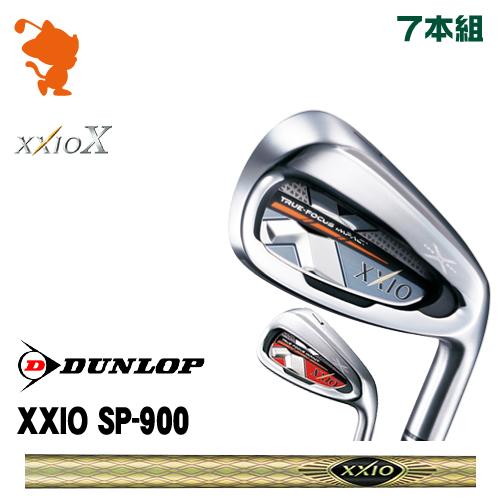 ダンロップ ゼクシオテン アイアンDUNLOP XXIO X IRON 7本組SP-900 カーボンシャフトメーカーカスタム 日本正規品