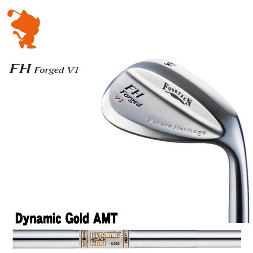 フォーティーン FH Forged V1 パールサテン ウェッジFOURTEEN FH Forged V1 WEDGEDynamic Gold AMT スチールシャフトメーカーカスタム 日本正規品
