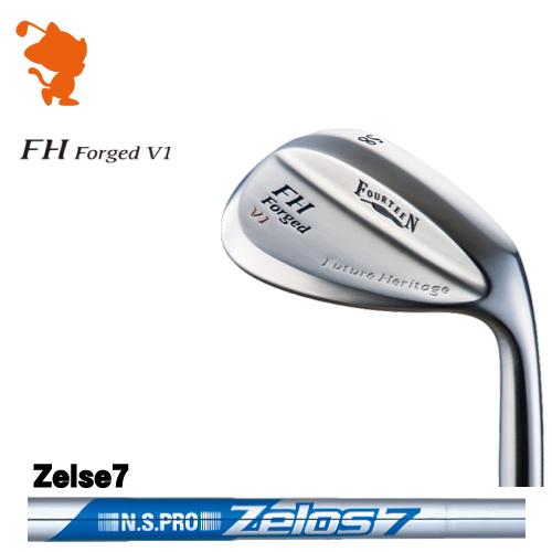 フォーティーン FH Forged V1 パールサテン ウェッジFOURTEEN FH Forged V1 WEDGENSPRO Zelos7 スチールシャフトメーカーカスタム 日本正規品