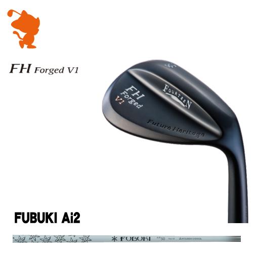フォーティーン FH Forged V1 マットブラック ウェッジFOURTEEN FH Forged V1 WEDGEFUBUKI Ai2 IRON カーボンシャフトメーカーカスタム 日本正規品