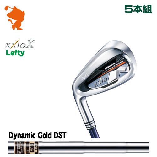 ダンロップ ゼクシオテン レフティ アイアンDUNLOP XXIO X Lefty IRON 5本組Dynamic Gold DST スチールシャフトメーカーカスタム 日本正規品