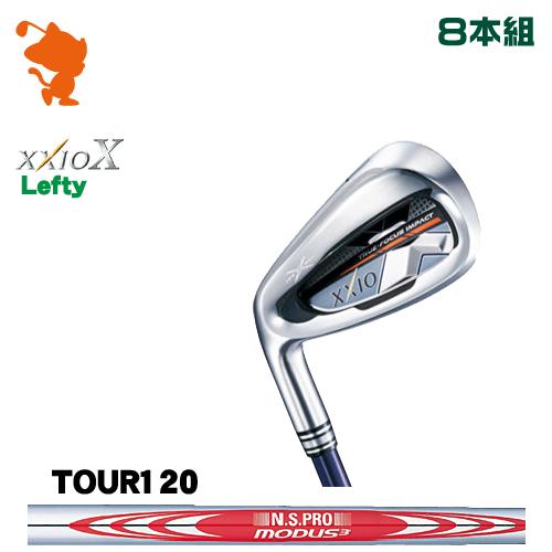 ダンロップ ゼクシオテン レフティ アイアンDUNLOP XXIO X Lefty IRON 8本組NSPRO MODUS3 TOUR120 スチールシャフトメーカーカスタム 日本正規品