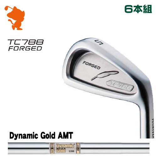 フォーティーン TC-788 FORGED アイアンFOURTEEN TC788 FORGED IRON 6本組Dynamic Gold AMT スチールシャフトメーカーカスタム 日本正規品