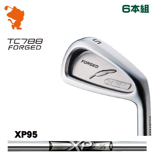 フォーティーン TC-788 FORGED アイアンFOURTEEN TC788 フォーティーン FORGED TC-788 IRON 6本組XP95 スチールシャフトメーカーカスタム アイアンFOURTEEN 日本正規品, ノン フローラル スタジオ:62d890cf --- jpworks.be