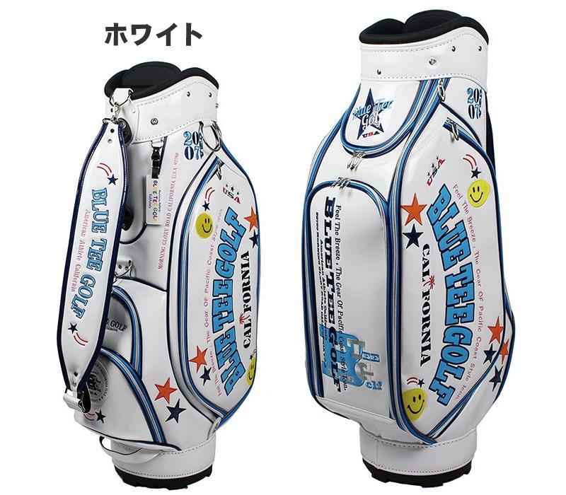 Blue Tee Golf Tea Cb 005 Enamel Cad Bag 9 Type 2018 Model For 46 Inches