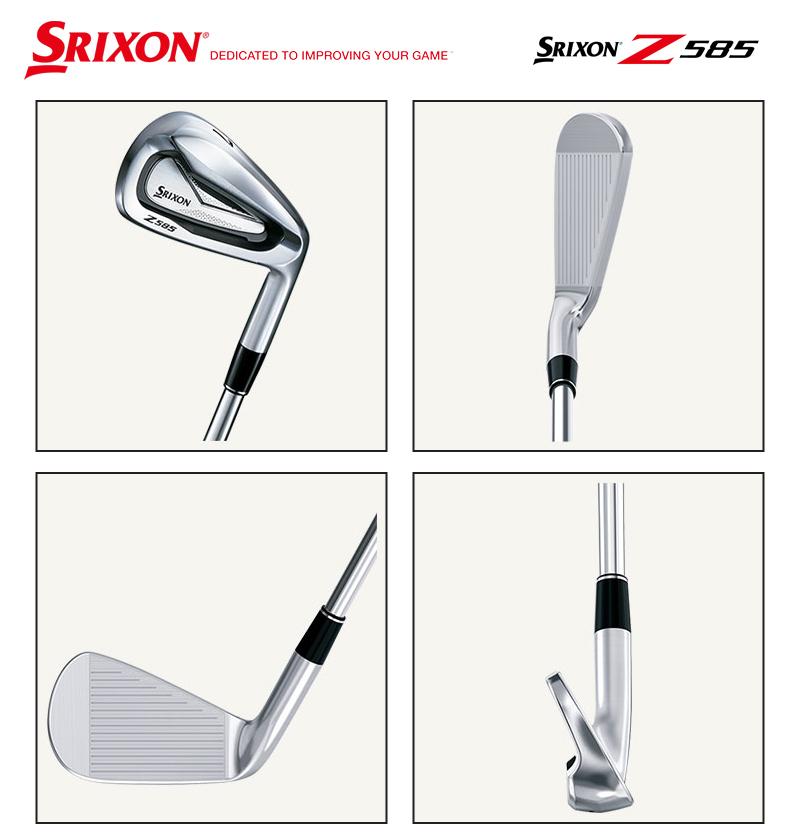 ダンロップ スリクソン Z585 アイアンDUNLOP SRIXON Z585 IRON 6本組Dynamic Gold 105 スチールシャフトメーカーカスタム 日本モデル