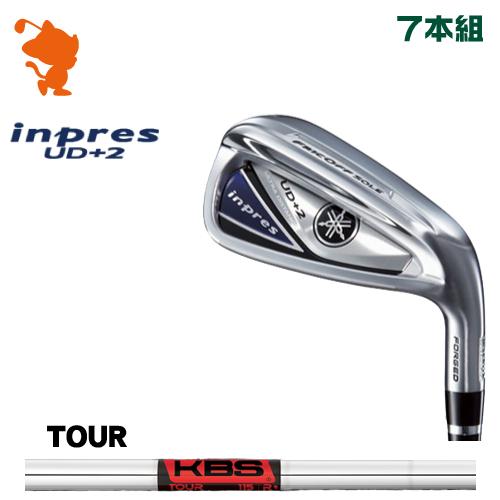 ヤマハ 19 インプレス UD+2 アイアンYAMAHA 19 inpres UD+2 IRON 7本組KBS TOUR スチールシャフトメーカーカスタム 日本モデル
