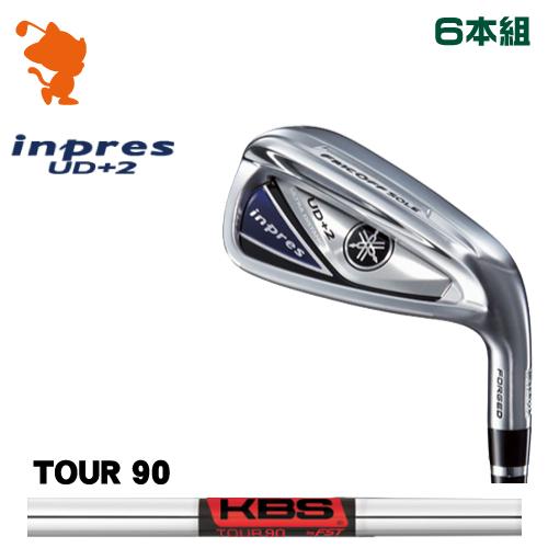 ヤマハ 19 インプレス UD+2 アイアンYAMAHA 19 inpres UD+2 IRON 6本組KBS TOUR 90 スチールシャフトメーカーカスタム 日本モデル