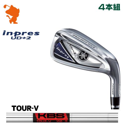 ヤマハ 19 インプレス UD+2 アイアンYAMAHA 19 inpres UD+2 IRON 4本組KBS TOUR V スチールシャフトメーカーカスタム 日本モデル