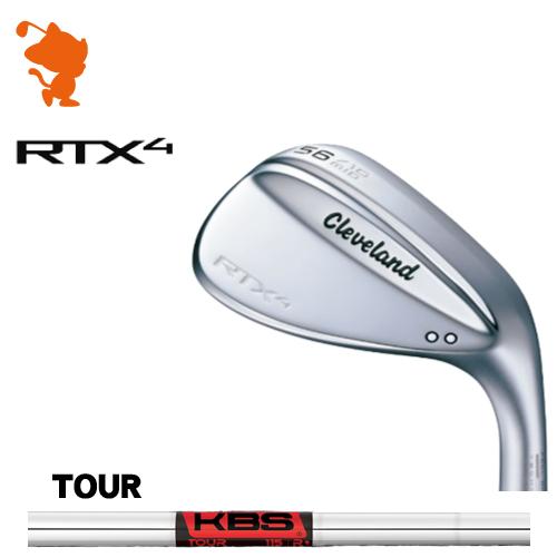 クリーブランド RTX4 ツアーサテン ウェッジCleveland RTX4 WEDGEKBS TOUR スチールシャフトメーカーカスタム 日本モデル