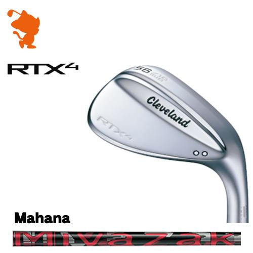 クリーブランド RTX4 ツアーサテン ウェッジCleveland RTX4 WEDGEMiyazaki Mahana カーボンシャフトメーカーカスタム 日本モデル