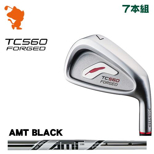 フォーティーン TC-560 FORGED アイアンFOURTEEN TC560 FORGED IRON 7本組AMT BLACK スチールシャフトメーカーカスタム 日本正規品