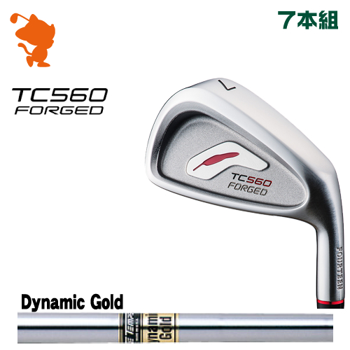 フォーティーン TC-560 FORGED アイアンFOURTEEN TC560 FORGED IRON 7本組Dynamic Gold スチールシャフトメーカーカスタム 日本正規品