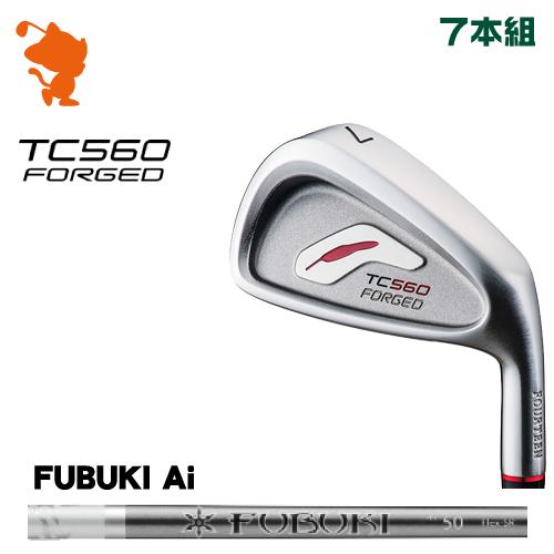 フォーティーン TC-560 FORGED アイアンFOURTEEN TC560 FORGED IRON 7本組FUBUKI Ai カーボンシャフトメーカーカスタム 日本正規品
