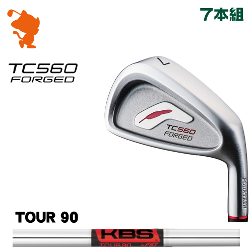 フォーティーン TC-560 FORGED アイアンFOURTEEN TC560 FORGED IRON 7本組KBS TOUR 90 スチールシャフトメーカーカスタム 日本正規品
