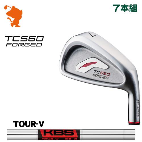 フォーティーン TC-560 FORGED アイアンFOURTEEN TC560 FORGED IRON 7本組KBS TOUR V スチールシャフトメーカーカスタム 日本正規品