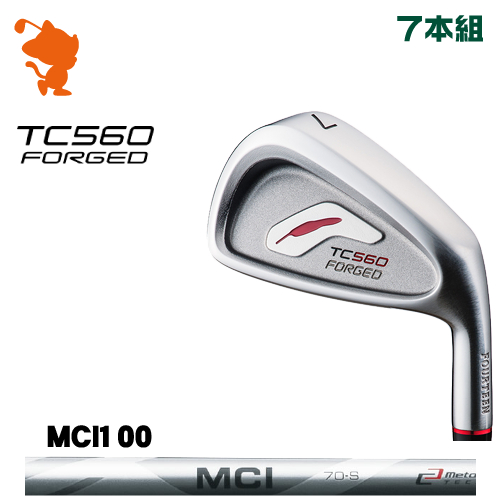 フォーティーン TC-560 FORGED アイアンFOURTEEN TC560 FORGED IRON 7本組MCI 100 カーボンシャフトメーカーカスタム 日本正規品