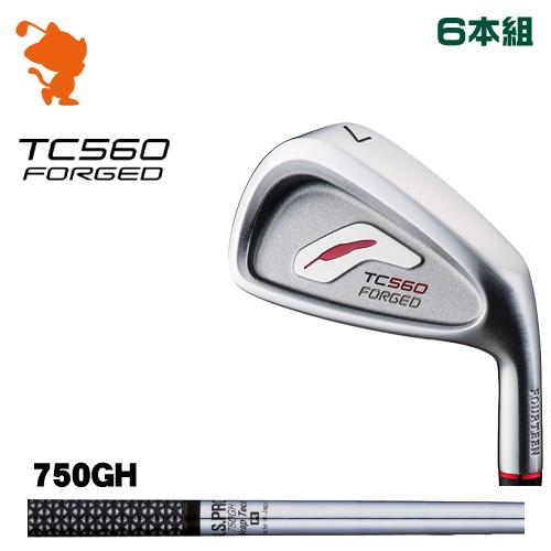 フォーティーン TC-560 FORGED アイアンFOURTEEN TC560 FORGED IRON 6本組NSPRO 750GH Wrap Tech スチールシャフトメーカーカスタム 日本正規品
